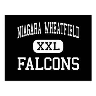 Wheatfield de Niágara - Falcons - alto - Sanborn Tarjeta Postal