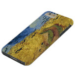 Wheatfield de Van Gogh con los cuervos Funda De iPhone 6 Plus Tough