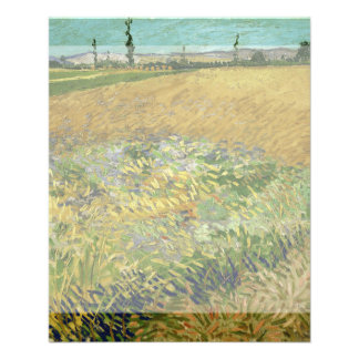 Wheatfield de Vincent van Gogh Tarjetas Informativas