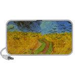 Wheatfield de Vincent van Gogh Portátil Altavoz