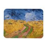Wheatfield with Crows, 1890 (oil on canvas) Flexible Magnets