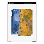 Wheatfield with Crows, 1890 (oil on canvas) Decal For iPad 3