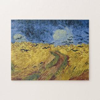 Wheatfield with Crows (F779) Van Gogh Fine Art Jigsaw Puzzle