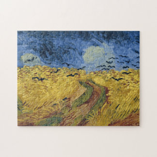 Wheatfield with Crows (F779) Van Gogh Fine Art Puzzle