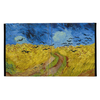 Wheatfield with crows - Vincent van Gogh (1890) iPad Cases