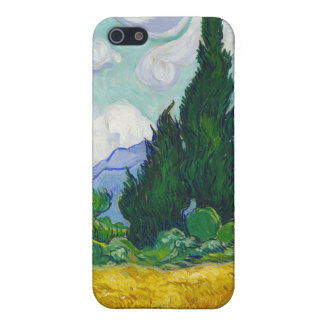 Wheatfield with Cypresses, Vincent Van Gogh Cover For iPhone SE/5/5s