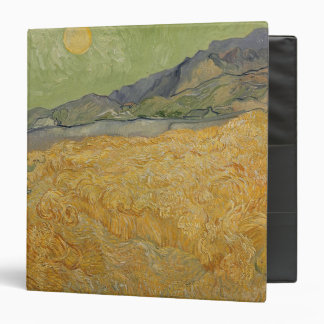 Wheatfield with Reaper, 1889 Binder