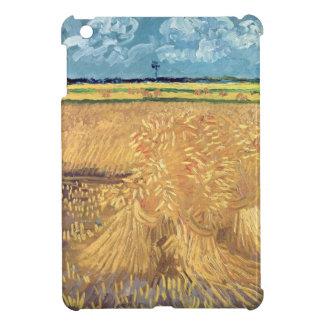 Wheatfield with Sheaves, 1888 iPad Mini Cover