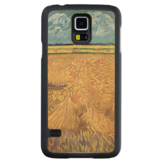 Wheatfield with Sheaves, 1888 Maple Galaxy S5 Case