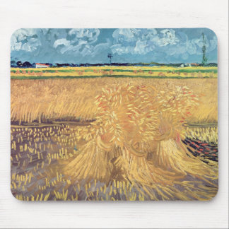 Wheatfield with Sheaves, 1888 Mouse Pad