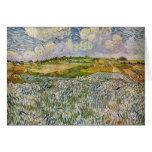 Wheatfields de Van Gogh Felicitación