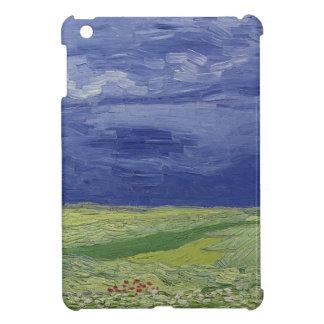 Wheatfields under Thunderclouds, 1890 iPad Mini Covers