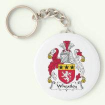 Wheatley Family Crest Keychain