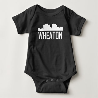 Wheaton Maryland City Skyline Baby Bodysuit