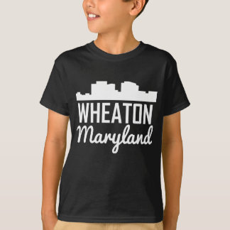 Wheaton Maryland Skyline T-Shirt