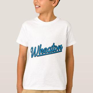 Wheaton neon light in cyan T-Shirt