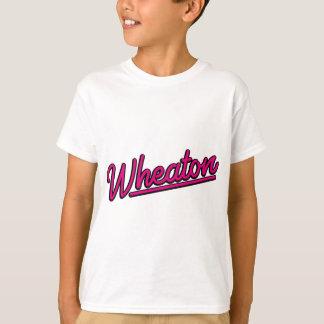Wheaton neon light in magenta T-Shirt