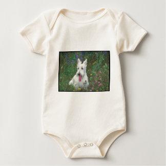 Wheaton Scottish Terrier Baby Bodysuit