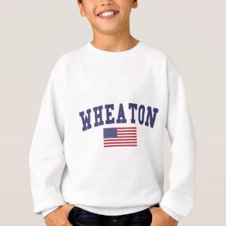 Wheaton US Flag Sweatshirt