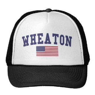 Wheaton US Flag Trucker Hat