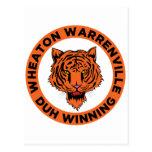 Wheaton Warrenvile Postcard