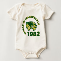 Wheaton Warrenville High School Baby Bodysuit