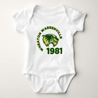 Wheaton Warrenville High School Baby Bodysuit