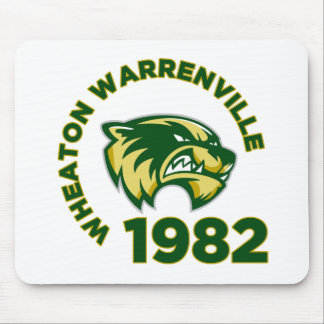 Wheaton Warrenville High School Mouse Pad