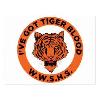 Wheaton Warrenville South High School Postcard