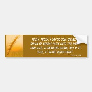 WheatSun Car Bumper Sticker