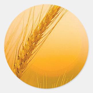 WheatSun Classic Round Sticker