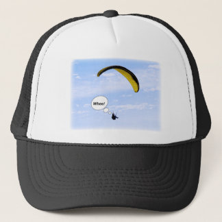 Whee! Paragliding in the Clouds Hat