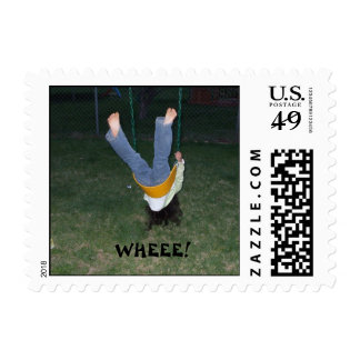 WHEEE! POSTAGE STAMPS