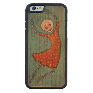 Wheee! Skeleton Phone Case Carved® Cherry iPhone 6 Bumper Case