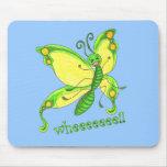 ¡Wheeeee! ¡Soy una mariposa!! Tapetes De Raton