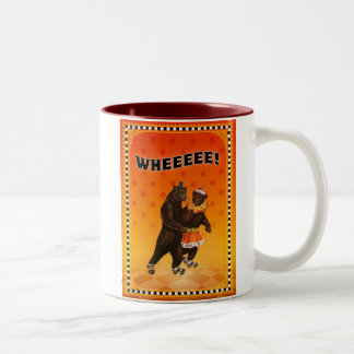 WHEEEEE! Two-Tone COFFEE MUG