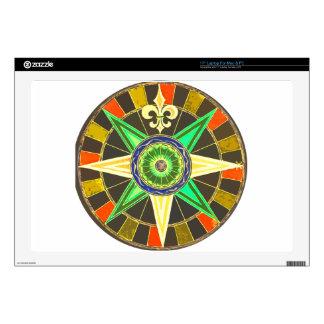 """Wheel 1 skin for 17"""" laptop"""