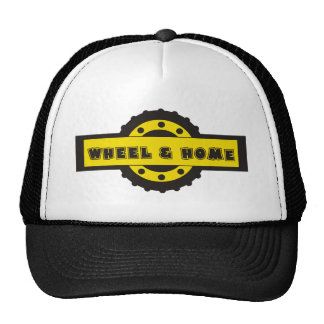 Wheel and home trucker hat