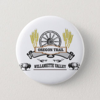 wheel and weeds WV Pinback Button