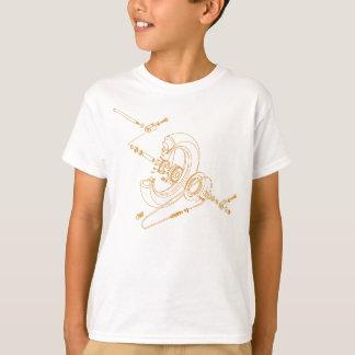 Wheel Assembly (orange) T-Shirt