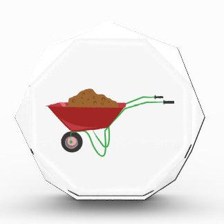 Wheel Barrow Acrylic Award