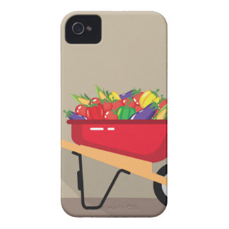 Wheel Barrow filled with Vegetables Case-Mate iPhone 4 Case