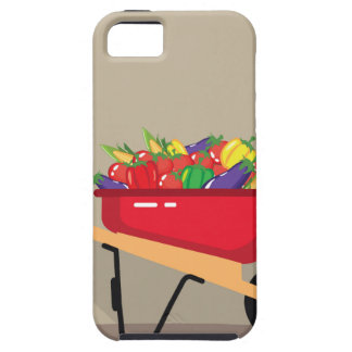 Wheel Barrow filled with Vegetables iPhone SE/5/5s Case