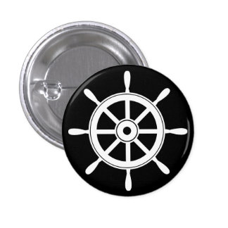 Wheel Pinback Button