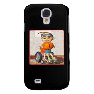 Wheel Chair Basketball 3 Galaxy S4 Cover