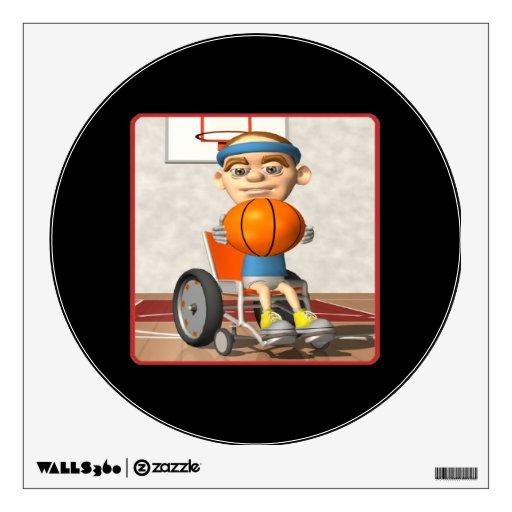 Wheel Chair Basketball 3 Wall Skins