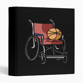 Wheel Chair Basketball Binder