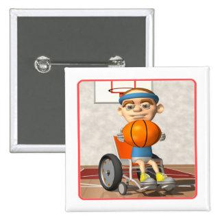 Wheel Chair Basketball Pin