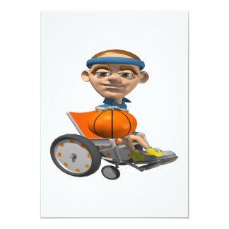 Wheel Chair Basketball Card