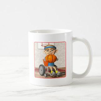 Wheel Chair Basketball Coffee Mug